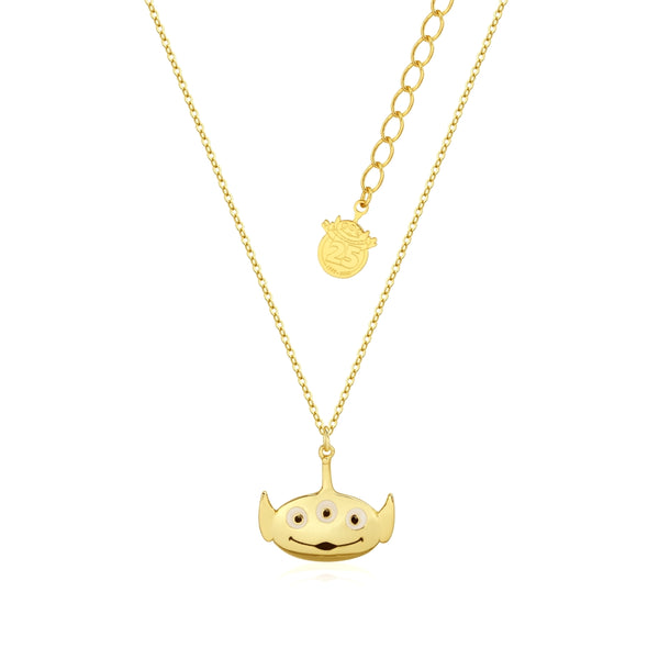 Disney Pixar Toy Story Alien Necklace