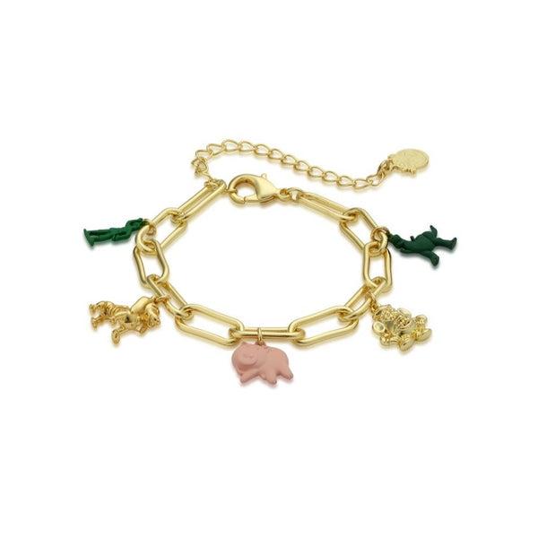 Disney_Pixar_Toy_Story_Yellow_Gold_Charm_Bracelet_Couture_Kingdom_DYB1008