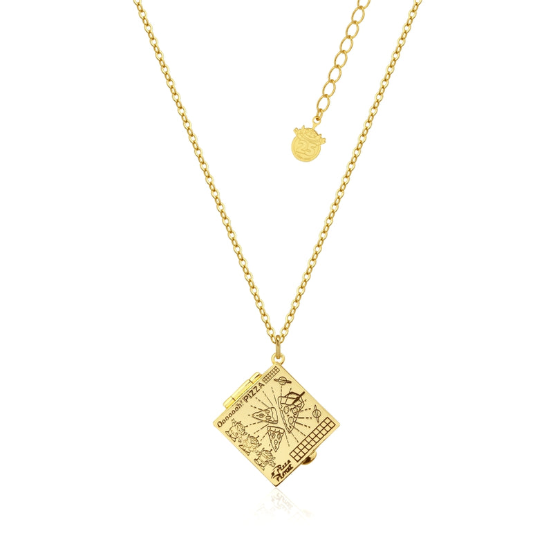 Disney_Pixar_Toy_Story_Yellow_Gold_Pizza_Planet_Necklace_Couture_Kingdom_Front_View_DYN1001