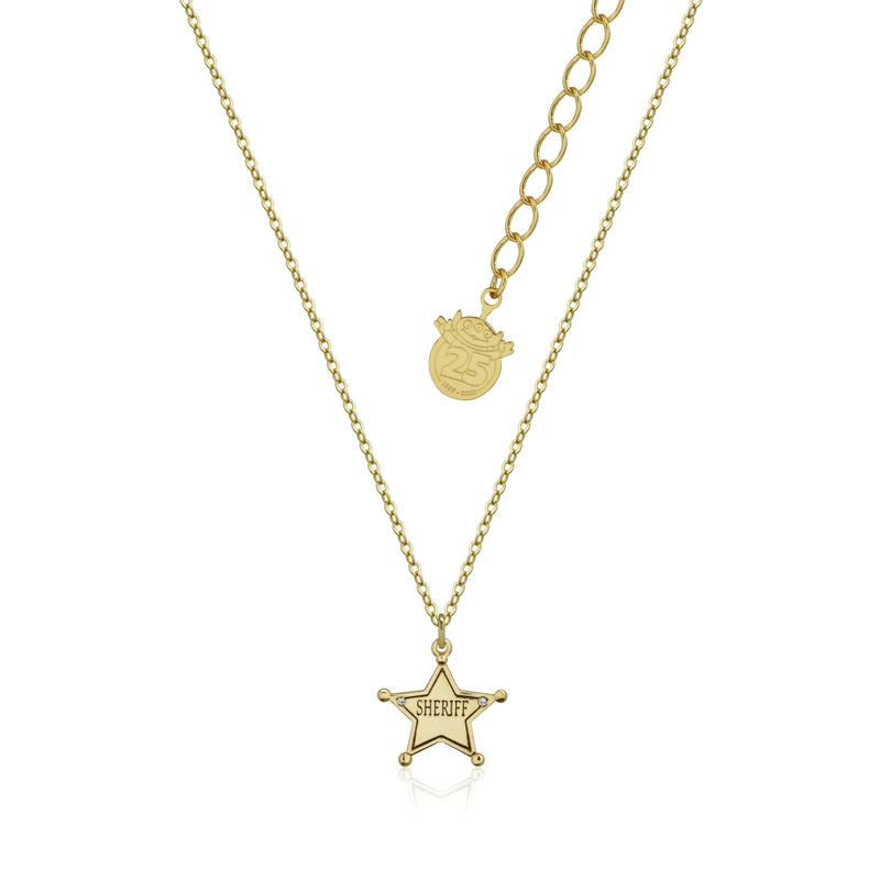 Disney_Pixar_Toy_Story_Yellow_Gold_Sheriff_Woody_Necklace_Couture_Kingdom_DYN1000