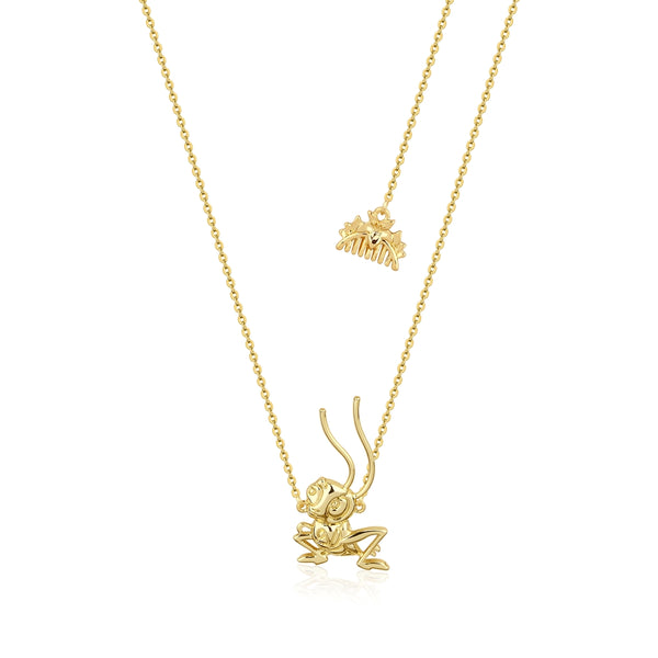 Disney_Princess_Mulan_CriKee_Necklace_Front_View_Yellow_Gold_Couture_Kingdom_DYN882
