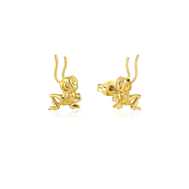 Disney_Princess_Mulan_CriKee_Stud_Earrings_Yellow_Gold_Couture_Kingdom_DYE882