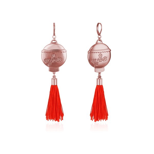 Disney_Princess_Mulan_Lantern_Tassel_Earrings_Rose_Gold_Couture_Kingdom_DRE88