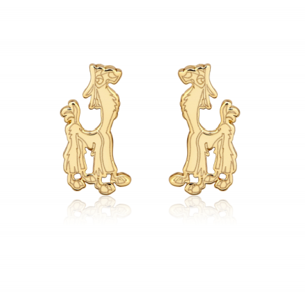 Disney_The_Emperors_New_Groove_Kuzco_Llama_Studs_Yellow_Gold_Couture_Kingdom