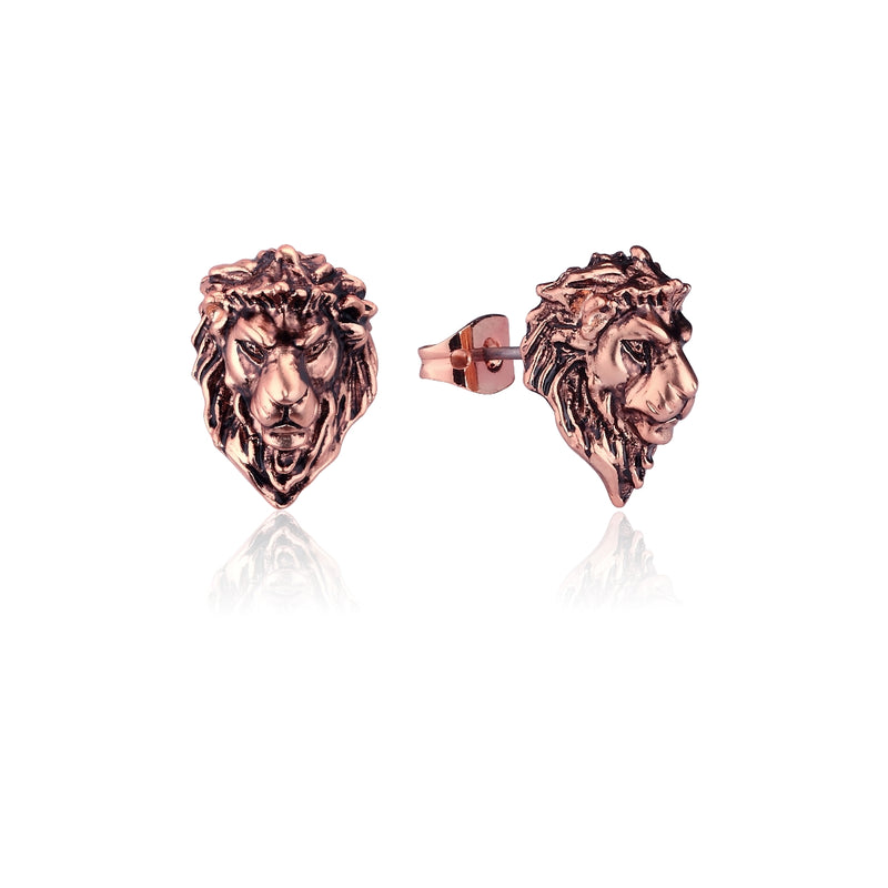 Disney-The-Lion-King-Simba-Rose-Gold-Stud-Earrings-DLRE215