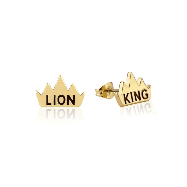 Disney The Lion King Crown Stud Earrings