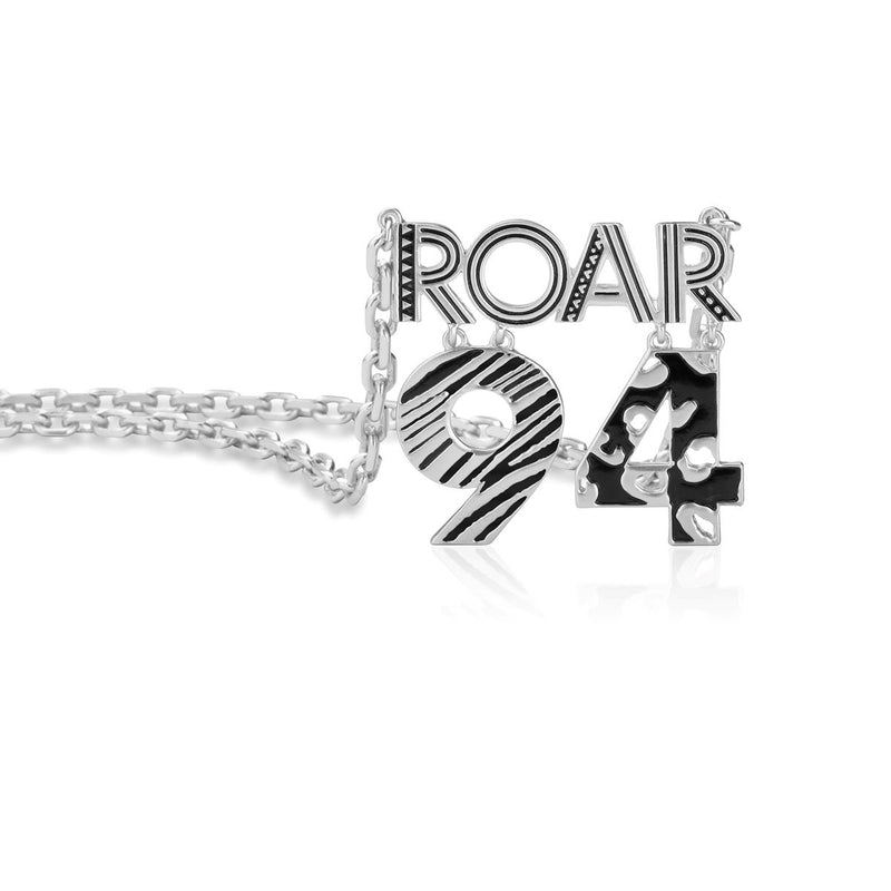 Disney-The-Lion-King-Roar-94-White-Gold-Necklace-Close-View-DLSN220