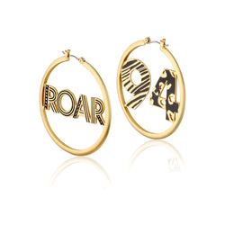 Disney-The-Lion-King-Roar-94-Hoop-Earrings-Yellow-Gold-Couture-Kingdom-Jewellery-DLYE220