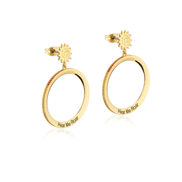 Disney The Lion King Savanna Sunset Hoop Earrings