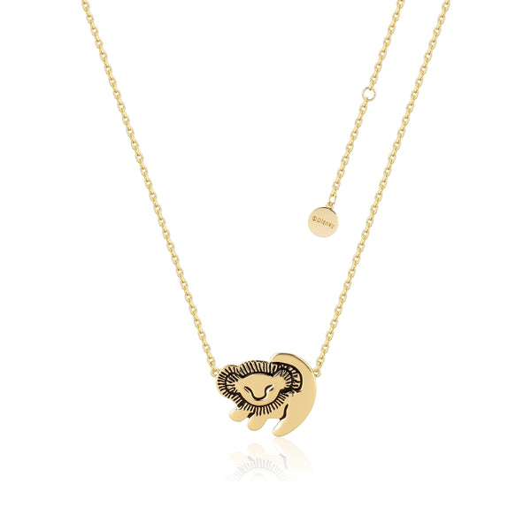 Disney-The-Lion-King-Simba-Yellow-Gold-Necklace-Couture-Kingdom-DLYN210