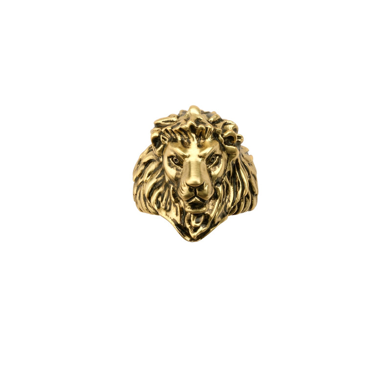 Disney-The-Lion-King-Simba-Ring-Yellow-Gold-Couture-Kingdom-Front-View-DLYR215