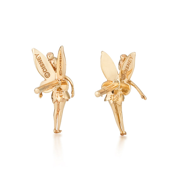 Disney-Tinker-Bell-9-carat-gold-Stud-Earrings-Back-View-Jewelry-by-Couture-Kingdom-E215708