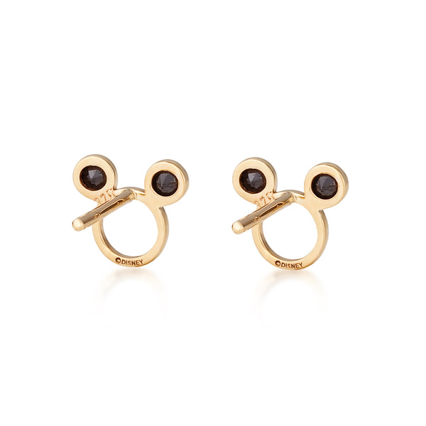 Disney-9-carat-gold-Precious-Metal-Mickey-Mouse-Outline-Stud-Earrings-Back-View-Jewelry-by-Couture-Kingdom-E215779