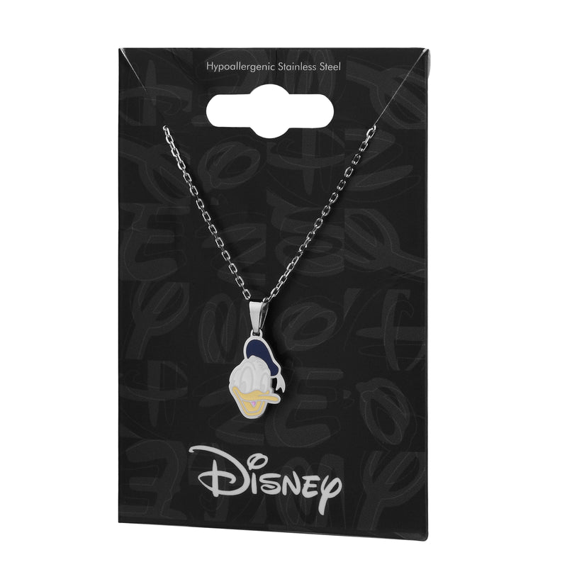 Disney ECC Donald Duck Enamel Necklace