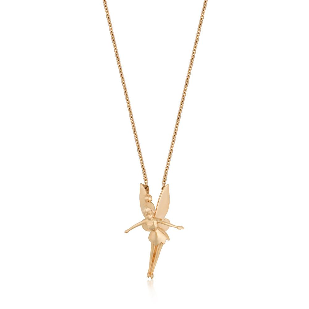 Disney-Tinker-Bell-Gold-Necklace