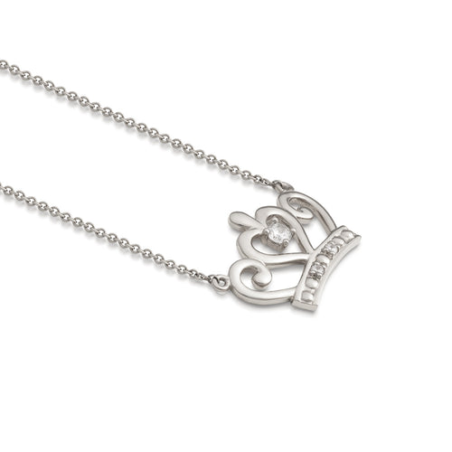 Disney-Princess-Sterling-Silver-Necklace