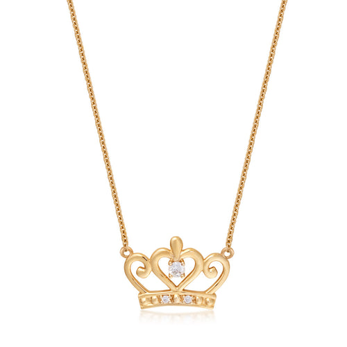 Disney Precious Metal Princess Necklace - Disney Jewellery