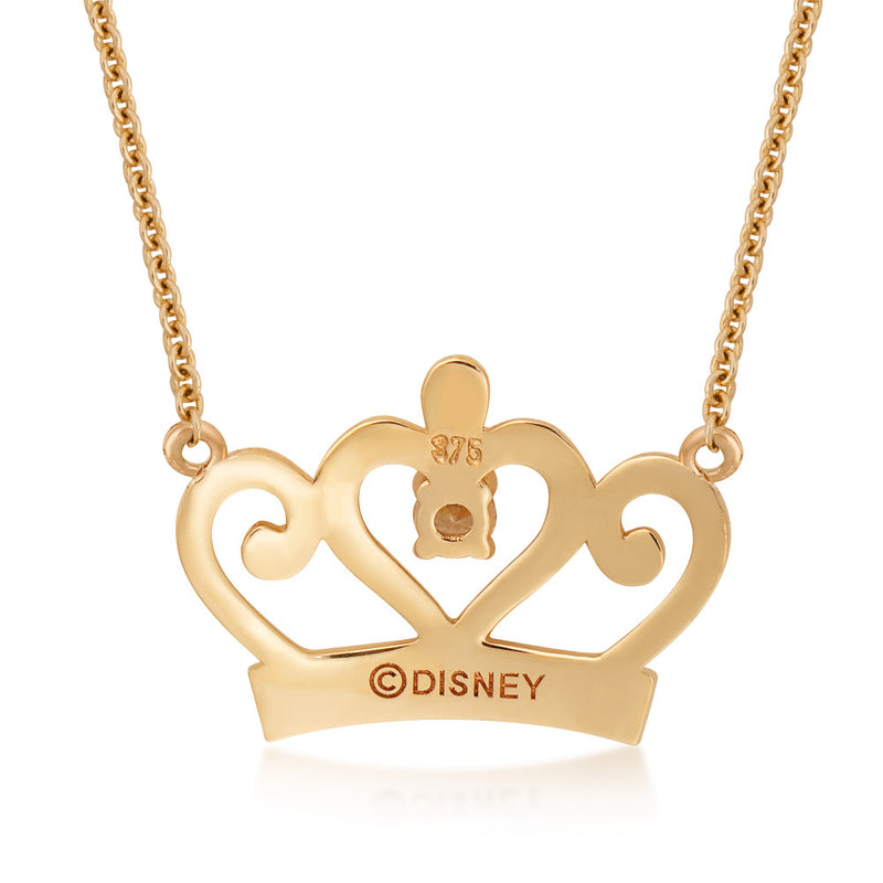 Disney-Princess-9-carat-gold-Necklace-Back-View-Jewelry-by-Couture-Kingdom-N215709
