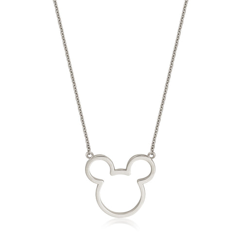 Disney-Mickey-Mouse-Sterling-Silver-Necklace