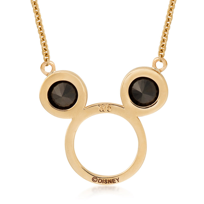 Disney-9-carat-gold-Precious-Metal-Mickey-Mouse-Necklace-Back-View-Jewelry-by-Couture-Kingdom-N215779