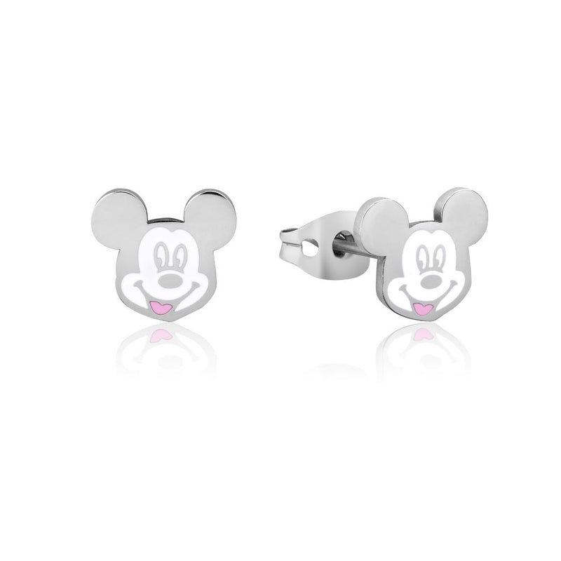 Disney ECC Mickey Mouse Enamel Stud Earrings