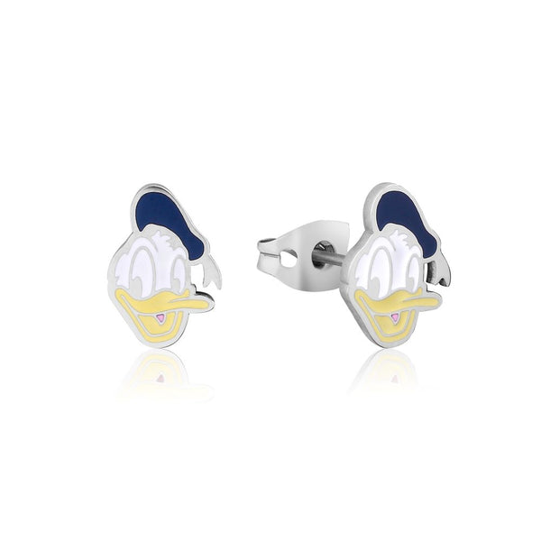 Disney ECC Donald Duck Enamel Stud Earrings