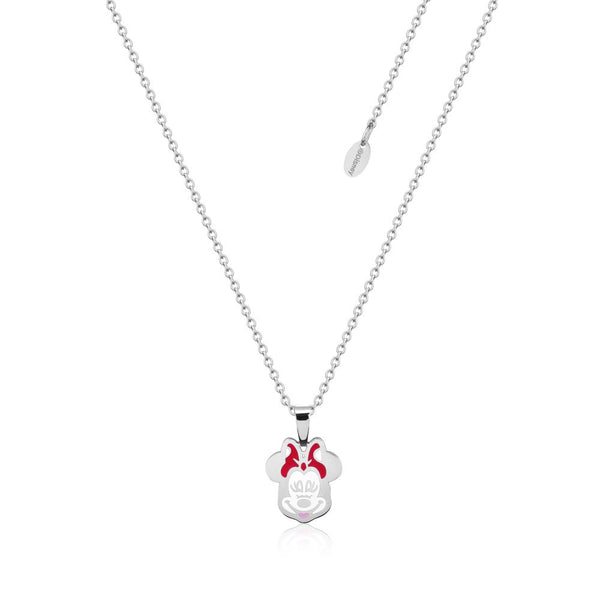 Disney ECC Minnie Mouse Enamel Necklace