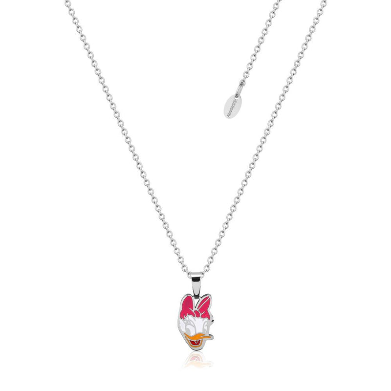 Disney ECC Daisy Duck Enamel Necklace