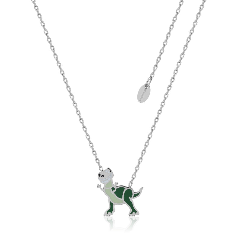 Disney_Pixar_ECC_Toy_Story_Rex_Dinosaur_Necklace_Stainless_Steel_Couture_Kingdom_SPN048