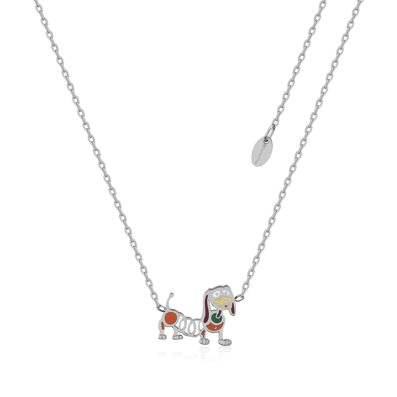 Disney_Pixar_ECC_Toy_Story_Slinky_Dog_Necklace_Stainless_Steel_Couture_Kingdom_SPN050