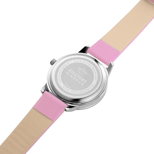 SPW002_Minnie_Mouse_Small_Watch_Pink_Strap_Back_View
