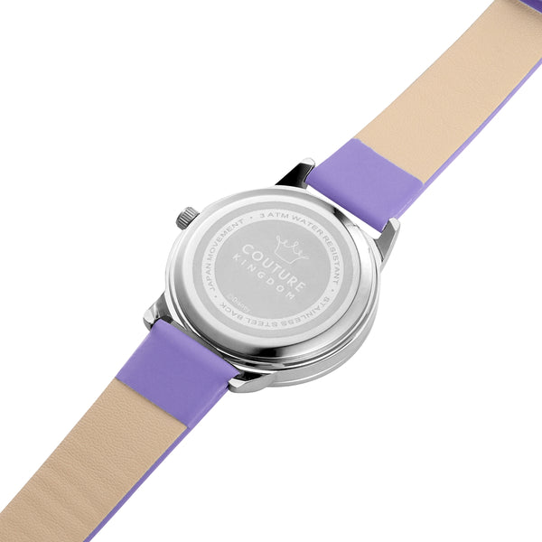 SPW004_Daisy_Duck_Small_Watch_Purple_Strap_Back_View
