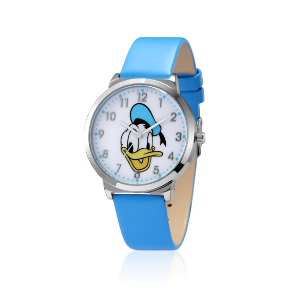 SPW009_Donald_Duck_Watch_Blue_Strap_Front_View