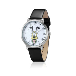 SPW012_Pluto_Watch_Black_Strap_Front_View