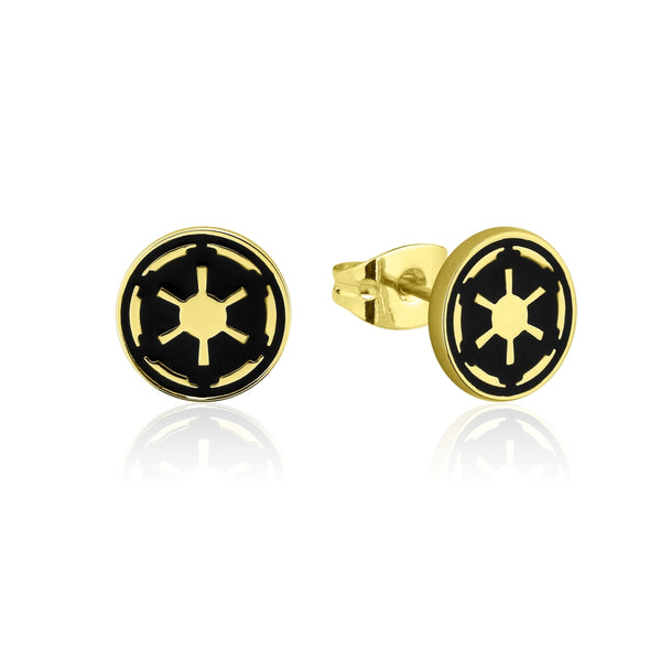 Star_Wars_Galactic_Empire_Stud_Earrings_Yellow_Gold_Couture_Kingdom_SWE005