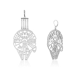 Star_Wars_Millennium_Falcon_Drop_Earrings_White_Gold_Couture_Kingdom_SWE015