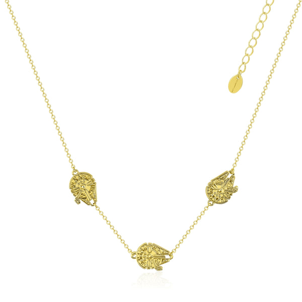 Star_Wars_Millennium_Falcon_Necklace_Yellow_Gold_Couture_Kingdom_SWN009