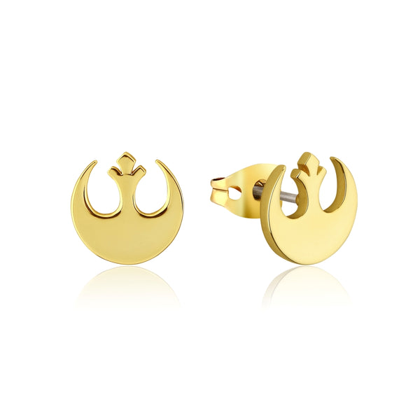 Star_Wars_Rebel_Alliance_Stud_Earrings_Yellow_Gold_Couture_Kingdom_SWE007