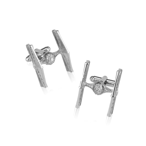 Star_Wars_TIE_Fighter_Cufflinks_White__Gold_Couture_Kingdom_SWCL04