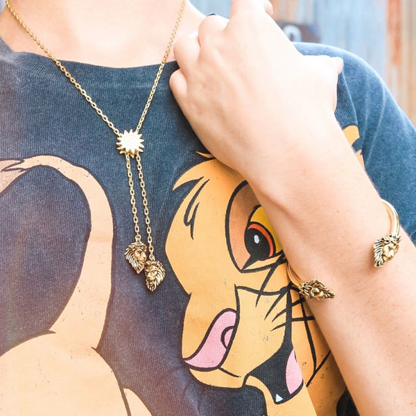Disney The Lion King Simba Vs Scar Necklace
