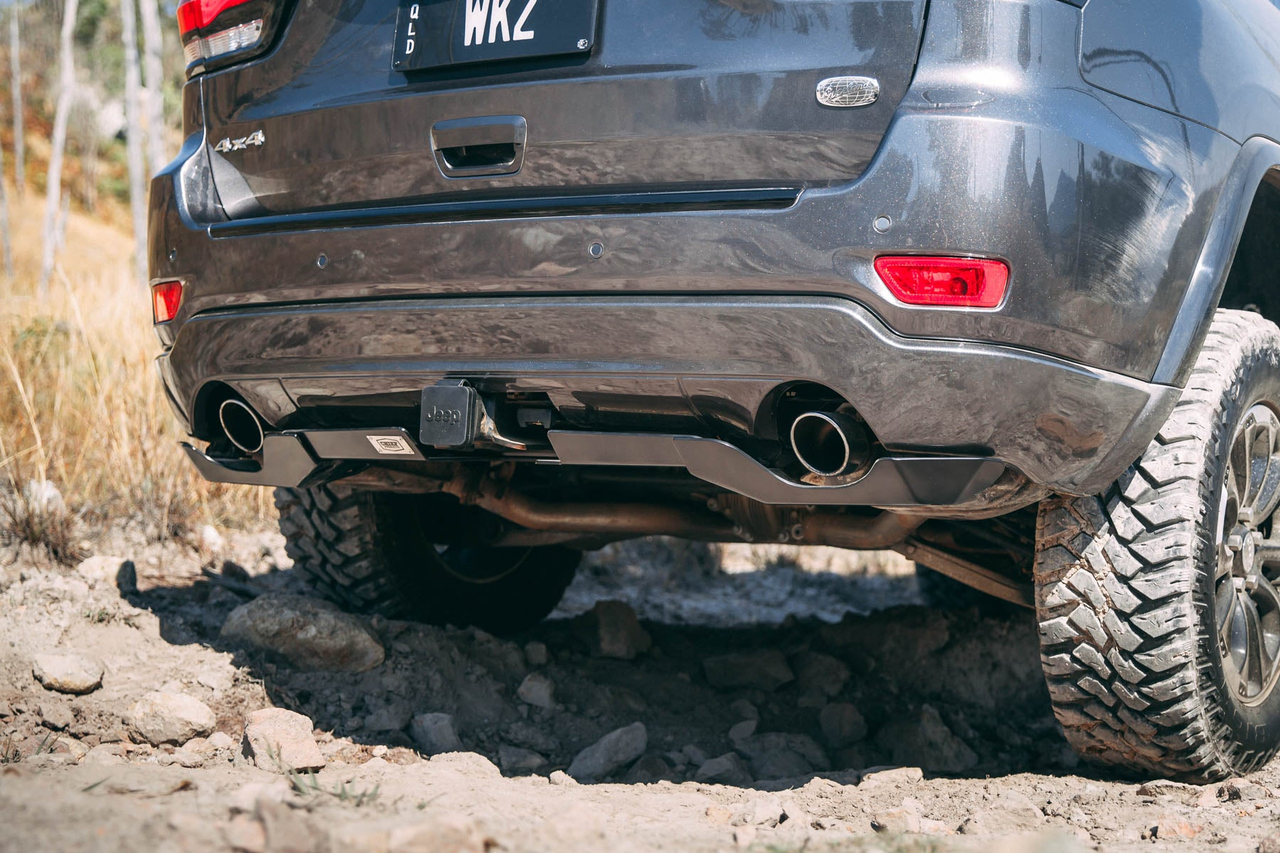 WK2 Rear Bumper Guard Corner Protection Kit