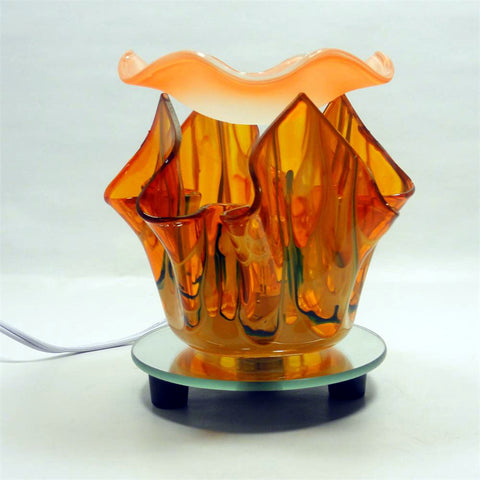 Orange  Flame Warmer