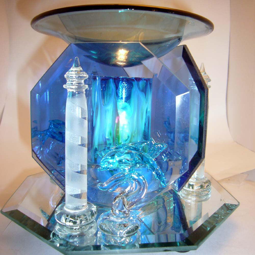 Dolphin and Lighthouse  Electric Warmer