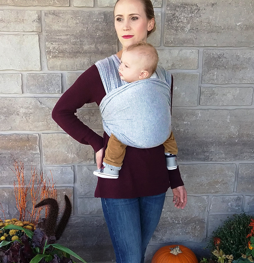 625b234b842 HUGGALOOPS BAMBOO CARRIER - HEATHERED FAWN - Huggaloops Baby