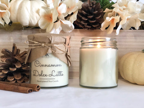 Cinnamon Dolce Latte Candle
