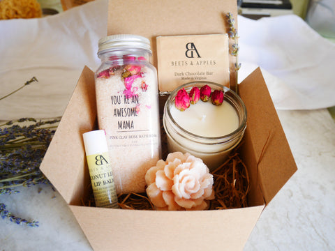 AWESOME MAMA FRENCH ROSE BOX