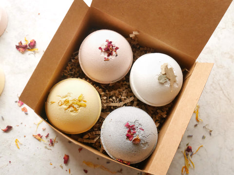 REJUVENATED QUEEN BATH BOMB SET
