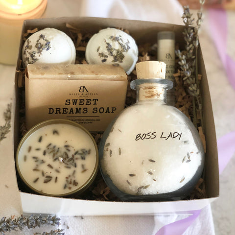 """Boss Lady"" Lavender Dreams Spa Gift Set"
