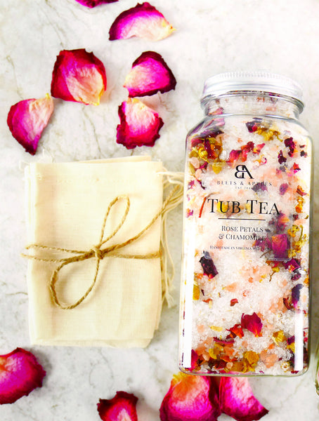 Sip & Soak Rose & Chamomile Gift Box