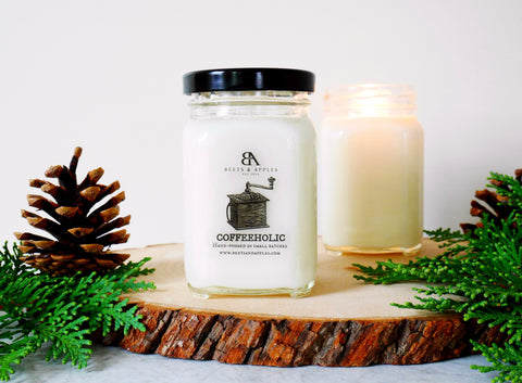 Coffeeholic Soy Candle